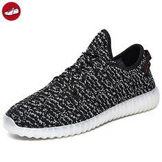 [Present:kleines Handtuch]Schwarz High-Top EU 42, Sport Herren 7 Leuchtend JUNGLEST® Schuhe weise Unisex-Erwachsene (TM) Aufladen Turnschuhe Sneaker USB
