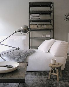 Modern...is finding organizers that work for you and also blend with your decor, smart!