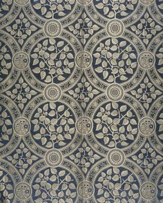 Vintage Patterns, Vintage Prints, William Godwin, Syringa, Aesthetic Movement, Blue And White China, Art For Art Sake, Art Deco Design, Types Of Art