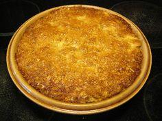リンゴのキャラメル風クラムパイ