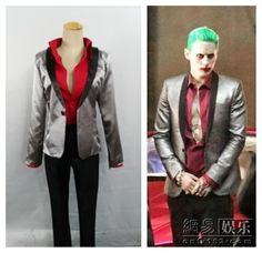 Suicide Squad Jared Leto Batman Joker Cosplay Costume