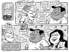 Mice Cartoon, Kompas 28 Desember 2014: Buy 1 Get 1