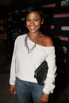 Stunning Nia Long ...  Snappy Hairstyles...   She is best known for her roles in the television series The Fresh Prince of Bel-Air and Third Watch, and the films In Too Deep, Boyz n the Hood, Boiler Room, Soul Food, Love Jones, The Best Man, Big Momma's House, and Are We There Yet?.