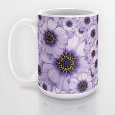Daisy Pattern Mug by Loredana | Society6