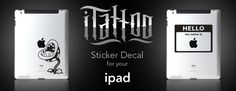 iTattoo Device Decals for iPhones, iPads, and Macs