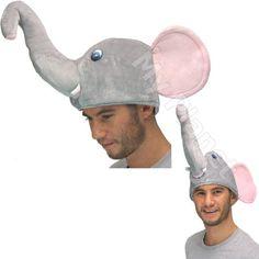 68ccf6bd Nelly The Elephant Dumbo Style Novelty Unisex Plush Fancy Dress Costume  Gimmick Animal Hat: Amazon.co.uk: Toys & Games