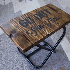 Camping Furniture, Outdoor Furniture, Outdoor Decor, Metal Crafts, Diy And Crafts, Cafe Racer Style, Fire Escape, Bar Gifts, Camping Style