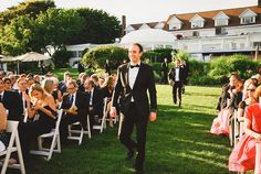 The wedding of Emily and Jon @ The Inn at Longshore | Westport CT