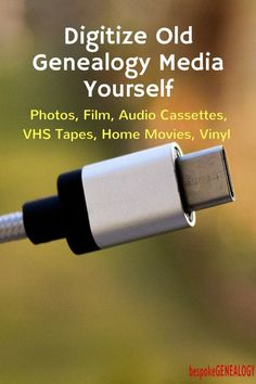 Digitize Old Genealogy Media Yourself Tips for Genealogists and Others Bespoke Genealogy Genealogy Sites, Genealogy Research, Family Genealogy, Genealogy Forms, London Underground, Genealogy Organization, Studio Organization, Organization Ideas, Family Research
