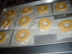 DONAS ESPONJOSAS CON AZUCAR - La Cocina de Norma Doughnut, Mexican Food Recipes, Desserts, Tv, Chocolate Frosting, Donut Holes, Cook, Food Cakes, Crack Cake