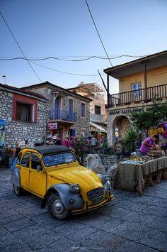 Afytos Village, Halkidiki, Greece
