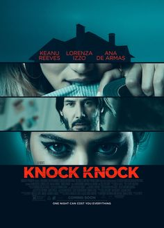 Official Poster for Eli Roth's Knock Knock