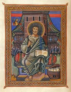 The Evangelist Luke | Gospel Book | ca. 860 | The Morgan Library & Museum