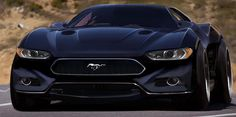 2015 mustang concept car