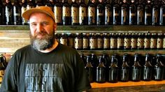 Co-owner Nigel Springthorpe stands in front of growlers at Brassneck Brewery © John Lee / Lonely Planet Distillery, Brewery, Drinking Around The World, Western Canada, Travel Checklist, Like A Local, Lonely Planet, Wine Country, Craft Beer