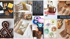 27 Expensive Looking Inexpensive DIY Gifts | DIY Joy Projects and Crafts Ideas http://diyjoy.com/cheap-diy-gifts-ideas