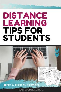 The Distance Learning Guide to Success for Students will help your students start their school year on the right foot. Ideal for Back to School and for use during the first few days of instruction.Using this guide, help your students with star student behaviors that will help them find success with distance learning. From setting up their work area at home, to keeping track of assignments.     #backtoschool  #distancelearning  #teacherspayteachers  #teachlikemidgley Middle School Teachers, Back To School, Teaching 6th Grade, Teaching Philosophy, Star Students, Student Behavior, Online Classroom, Secondary Teacher, Teaching Techniques