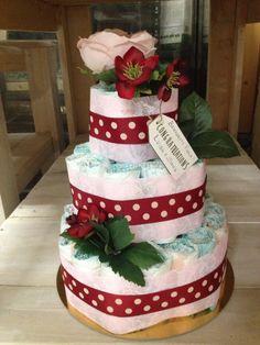Torta di pannolini #cake #pannolini #cute #birth
