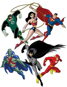 How To Draw DC Heroes - Justice League by TimLevins.deviantart.com on @DeviantArt