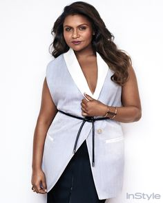 We love Mindy Kaling for being both stylish and hilarious.