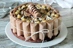 Torta fredda tronky alla nocciola e nutella