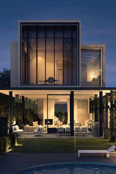 94 Best Of Modern House Design Ideas 2019 Inspiring Modern House Architecture Design Ideas 50 In 2019 Modern House Facades, Modern Architecture House, Interior Architecture, Monumental Architecture, Melbourne Architecture, Sustainable Architecture, Beautiful Architecture, Residential Architecture, Landscape Architecture