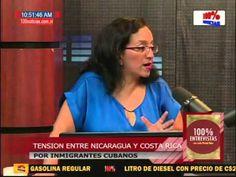 100% Entrevistas. Mauricio Herdocia analiza tensión entre Costa Rica y Nicaragua por cubanos - YouTube