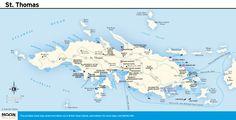 printable travel maps of the virgin islands st thomas