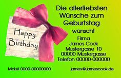 Büroservice Dressel: 103 Happy Birthday I