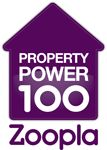 We know this image isn't up to our usual very high standards, but we couldn't resist posting it: we just made number 50 in the Zoopla Property Power 100 list!  This is something we are quite amazingly proud of and so we just had to share it!