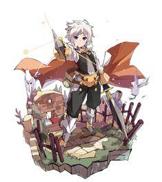 梅露可图鉴[双剑骑士] 凯弗卡