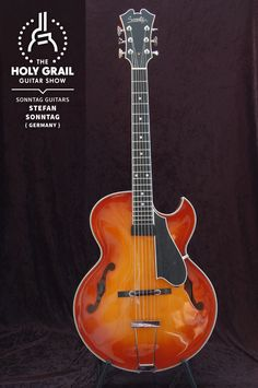 Exhibitor at The Holy Grail Guitar Show 2014: Stefan Sonntag, Sonntag Guitars, Germany http://www.sonntag-guitars.com https://www.facebook.com/stefan.sonntag.942 http://holygrailguitarshow.com