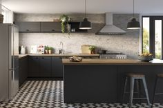Modern Farmhouse | kaboodle kitchen