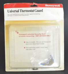Honeywell CG511A universal locking thermostat guard with Key Access #Honeywell