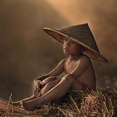 Vietnamese Boy hoping for a out of dream...............