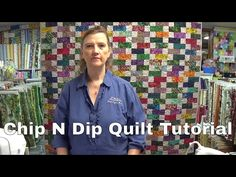 Chip N Dip Quilt - YouTube