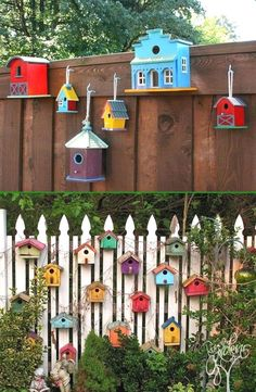 Ideas for Decorating your Garden Fence (DIY) Ideas for Decorating your Garden Fence (DIY) fence decor backyard: garden decor ideas (garden fence ideas)