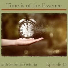 Time is of the Essence by Sabrina Victoria on SoundCloud