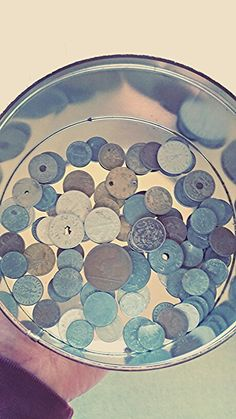 Coins from around the world. Most are WW1 and WW2 Era from Nazi/German occupied territories.
