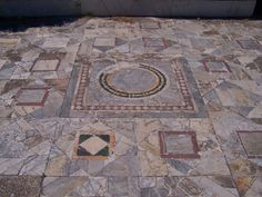 "OSTIA - Pavimento in ""opus sectile"""