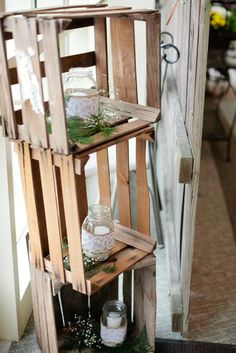 DIY rustic wedding signs centerpieces details pictures (21)
