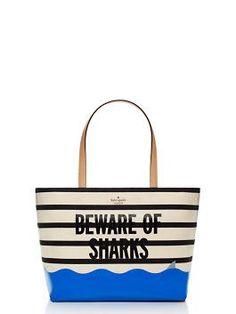 splash out francis, beware of shark | Kate Spade