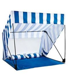 Brookstone Island Shade Shack | Screen yourself from the sun with these cool additions to your summer day.