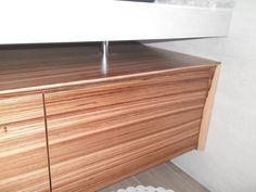 Zebrano furniture Paros, Handmade Furniture, Credenza, Type 1, Cabinet, Facebook, Storage, Home Decor, Craftsman Furniture