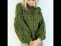 Knitting sweter for women beautiful 57 Ideas Knitwear Fashion, Knit Fashion, Sweater Fashion, Winter Sweater Outfits, Warm Outfits, Baby Knitting Patterns, Knitting Designs, Jumpers For Women, Sweaters For Women