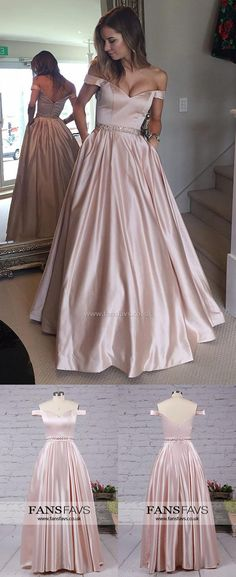Long Prom Dresses,Prom Ball Gowns,Pink Prom Dresses For Girls,Cheap Prom Dresses Modest