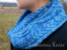 Ravelry: Intertwined Cables Scarf pattern by Katherine Remski