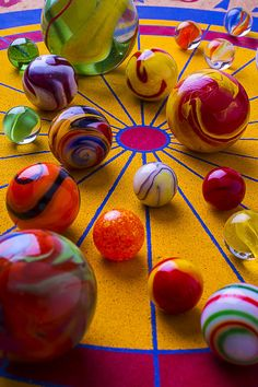Winning At Marbles Photograph