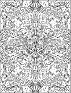 Welcome To Dover Publications Animal Kaleidoscope Designs Coloring Book