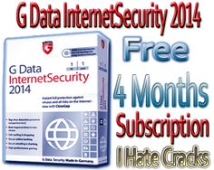 G Data InternetSecurity 2014 Download Free With 3 Months Free And Legal Subscription - I Hate Cracks